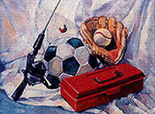 - artwork BOYSTOYS-1044916587.jpg - 2003, Painting Oil, Still Life