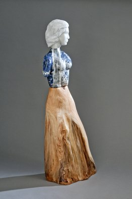 Jane Jaskevich: 'cia', 2018 Mixed Media Sculpture, Figurative.