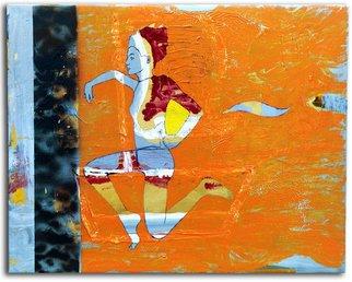 Artist: Jasmine Ronel - Title: Greek - Medium: Other Painting - Year: 2001