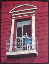 - artwork In_the_Balcony-1202150027.jpg - 2005, Painting Other, Figurative