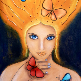 Butterfly Queen By Javorkova Marie