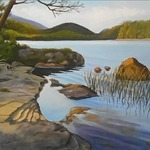 eagle lake acadia By Janet Glatz
