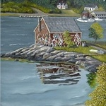 maine lobster shack By Janet Glatz