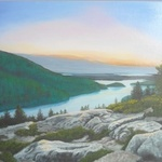 mountain view acadia By Janet Glatz