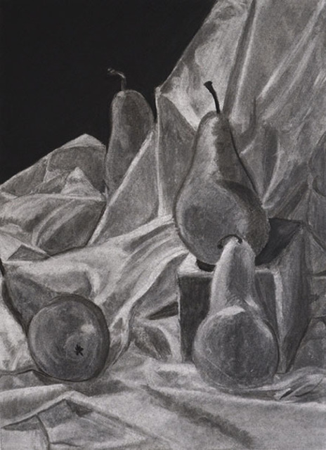 Jamie Boyatsis  'Pear Still Life', created in 2013, Original Painting Oil.