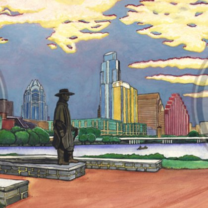 , Downtown Austin In 180, Cityscape, Request Price