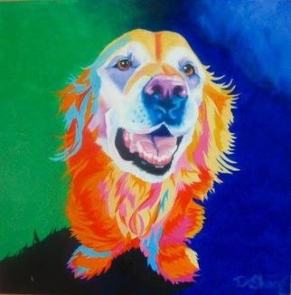 Joanne Deshong: 'Rosie', 2004 Oil Painting, Dogs. A painting to capture the sweet smile and personality of a beloved pet. ...