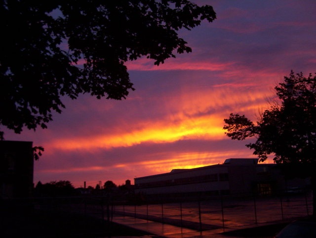 Jeanette Locher  'SW Detroit Sunset', created in 2006, Original Photography Color.