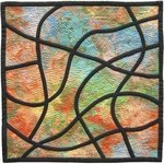 Stained Glass Mosaic 4 By Jean Judd