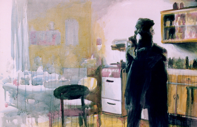 Jeannine Max  'In The Kitchen', created in 2007, Original Painting Acrylic.