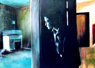 Artist: Jeannine Max - Title: the empty flat - Medium: Acrylic Painting - Year: 2007