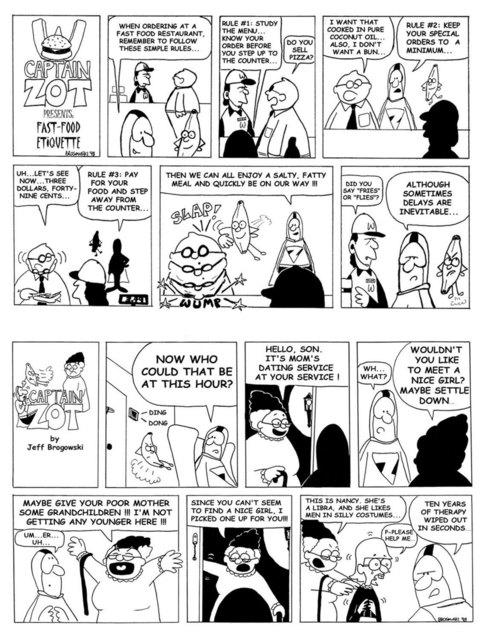 comics sample
