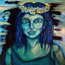 - artwork Green_Women_Knowing-1049931833.jpg - 2002, Painting Acrylic, Figurative