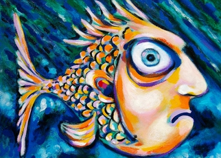 Painting oil for sale 600 699 at absolutearts page 5 for Fish oil on face