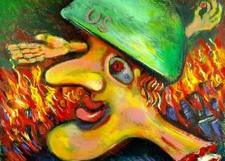 Artist: Jeff Turner - Title: Soldier - Medium: Oil Painting - Year: 2008