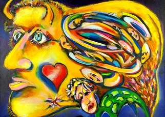 Artist: Jeff Turner - Title: Swirling Thoughts - Medium: Oil Painting - Year: 2008