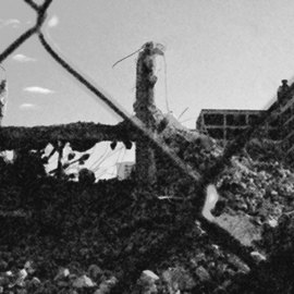 Jennifer Anne Buckley: 'Destruction II', 2006 Other Photography, Poverty. Artist Description:  This is the mound of what is left of one of the demolished Cabrini Green Projects buildings. ...