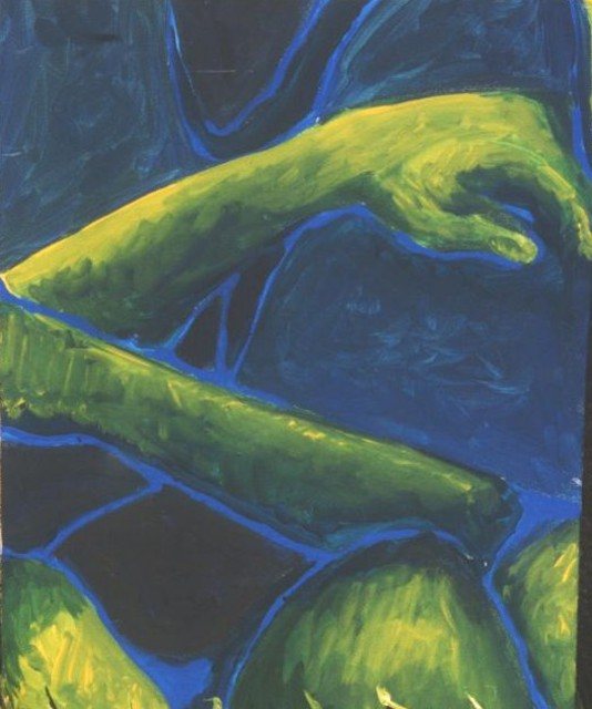 Jennifer Bailey  'Arm', created in 2002, Original Painting Acrylic.