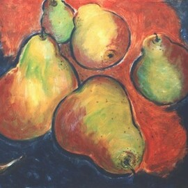 fruit painting By Jennifer Bailey