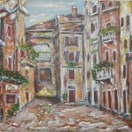 A Square in Florence By Jerry Farber