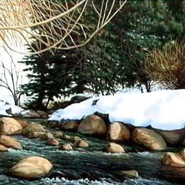 Jerry Maloney Artwork Vail Gold Medal, 2010 Oil Painting, Landscape