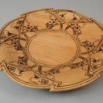 art nouveau platter ii By Jerry Cox