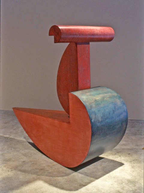 Jerry Monteith  'This Piece Is Titled Ruby', created in 1992, Original Sculpture Wood.