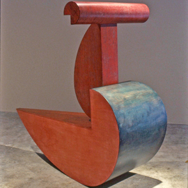 This piece is titled Ruby  By Jerry Monteith