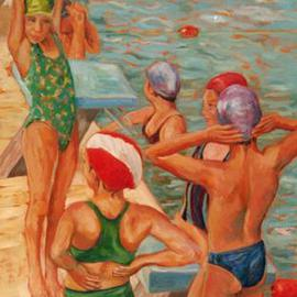 Bathers By Jessica Dunn