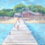 Girl On A Jetty, Jessica Dunn