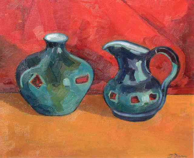 Jessica Dunn  'Home Made Pots', created in 2002, Original Ceramics Other.
