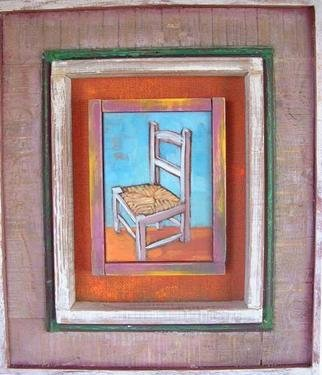 Jessica Dunn Artwork Lydias Chair, 2005 Oil Painting,