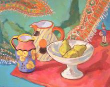 - artwork Mort_Figue_and_Dora_Tennant_Vasaes-1140178375.jpg - 2006, Painting Oil, Still Life