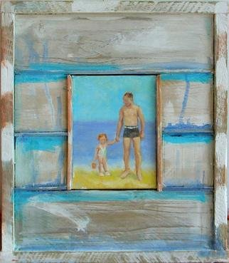 Jessica Dunn Artwork My Hero, 2005 Oil Painting, Family
