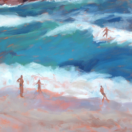 Surfer  By Jessica Dunn