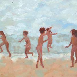 Jessica Dunn: 'Wave', 2006 Oil Painting, Figurative.