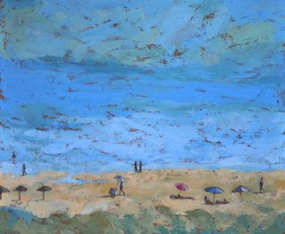 Jessica Dunn: 'holiday', 2016 Acrylic Painting, Seascape.