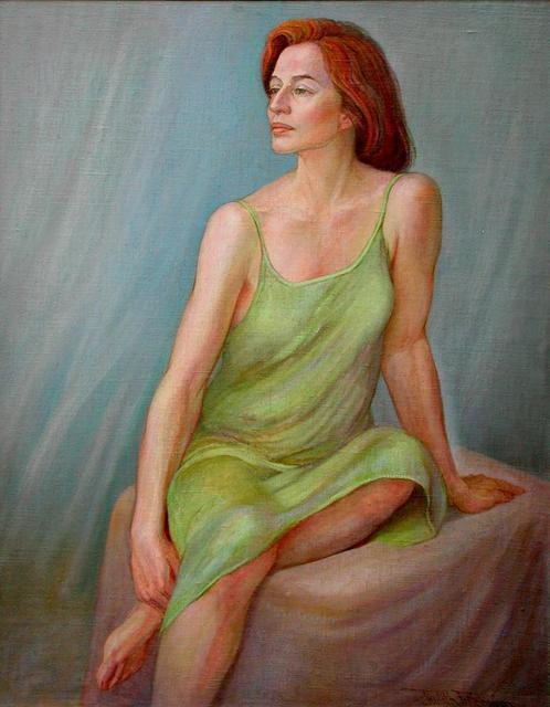 Artist Judith Fritchman. 'Afternoon Reverie' Artwork Image, Created in 2001, Original Painting Acrylic. #art #artist