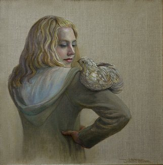 Judith Fritchman: 'All Creatures Great and Small', 2012 Oil Painting, Figurative.    A cherished friendship. ...