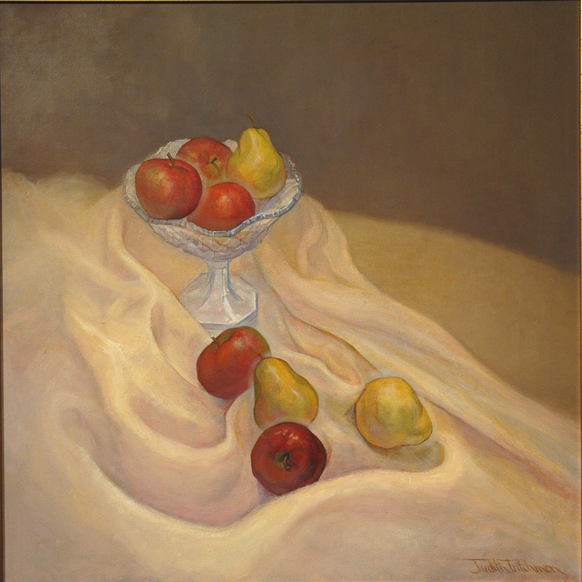 Judith Fritchman  'Apples And Pears', created in 2001, Original Painting Acrylic.