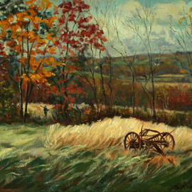 Autumn Valley View , Judith Fritchman