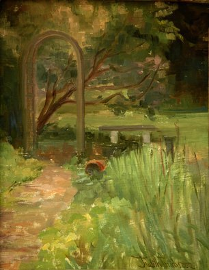 Judith Fritchman Artwork Garden I, 2006 Oil Painting, Landscape