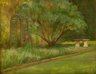 Judith Fritchman Artwork Garden II, 2006 Oil Painting, Landscape