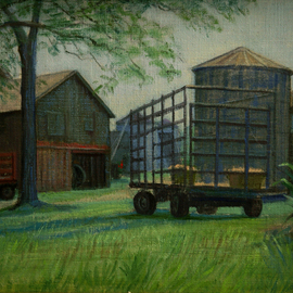 Harvest Time By Judith Fritchman