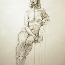 Nude 1  By Judith Fritchman