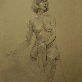 Nude 12  By Judith Fritchman