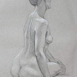 Nude 9  By Judith Fritchman