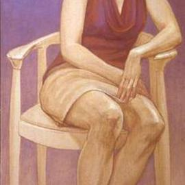 Judith Fritchman: 'Rebecca', 2001 Oil Painting, Figurative. Artist Description: It was a challange to try to capture the spirit and candor of this striking young woman. ...