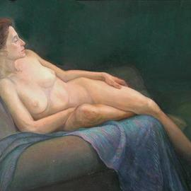 Reclining Nude I, Judith Fritchman