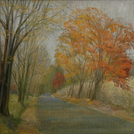 Road Home In Autumn, Judith Fritchman